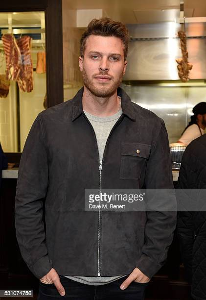 Rick Edwards attends the Whistles first dedicated menswear store launch party>> on May 12 2016 in London England