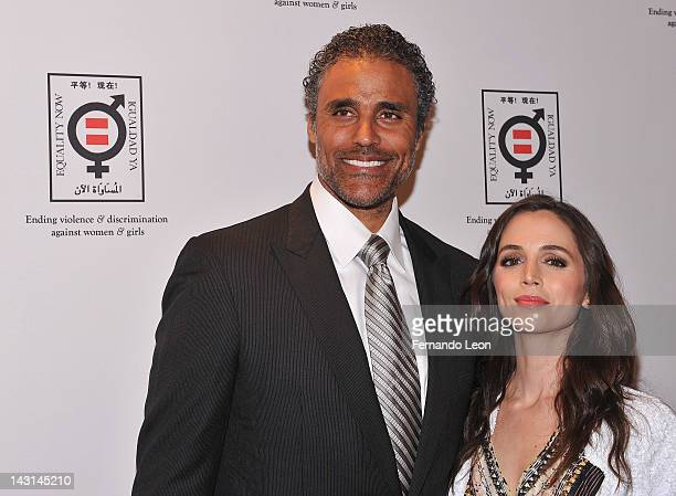Rick Fox and actress Eliza Dushku attend the Equality Now 20th Anniversary Fundraiser Event at Asia Society on April 19 2012 in New York City