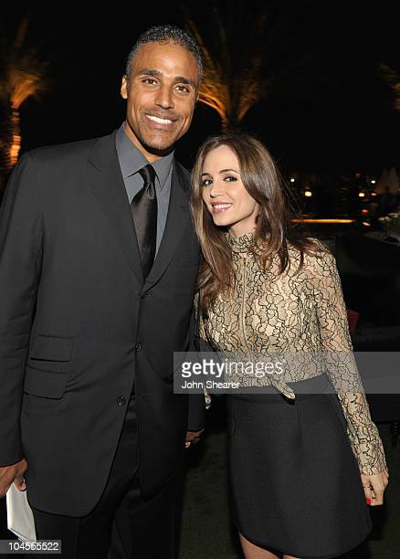 Rick Fox and Eliza Dushku attend 'ARCADE Boutique Presents The Autumn Party' at The London Hotel on September 29 2010 in West Hollywood California