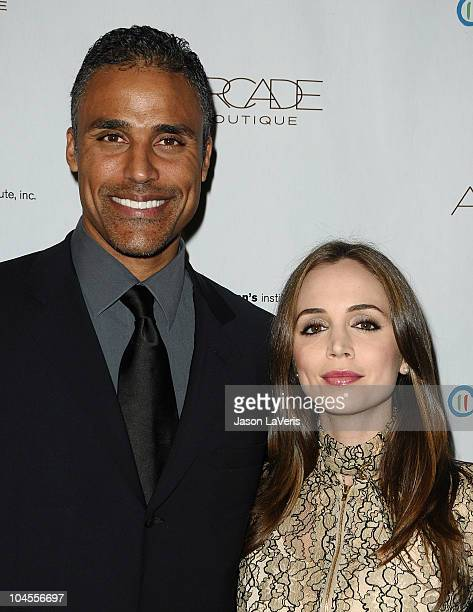 Rick Fox and Eliza Dushku attend the Autumn Party benefiting Children's Institute at The London Hotel on September 29, 2010 in West Hollywood,...
