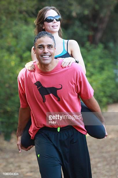 Rick Fox and Eliza Dushku sighting on October 24 2010 in Los Angeles California