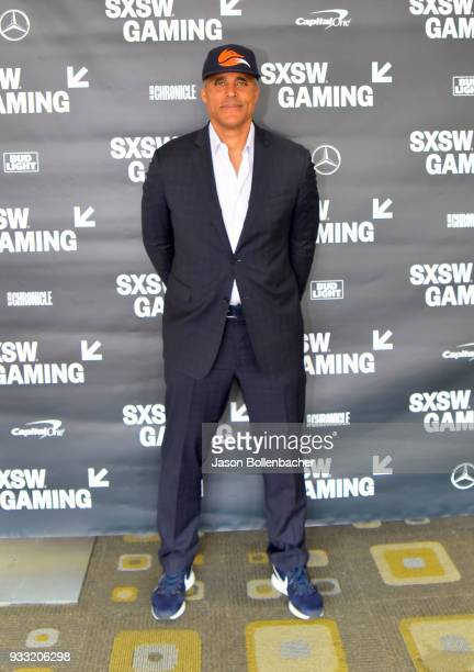 Rick Fox attends Lessons Learned in Leading the Fast Break to Esports during SXSW at Austin Convention Center on March 17 2018 in Austin Texas