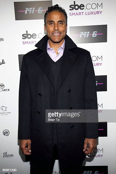 Rick Fox attends Mi6 Nightclub Grand Opening Party on September 15 2009 in West Hollywood California