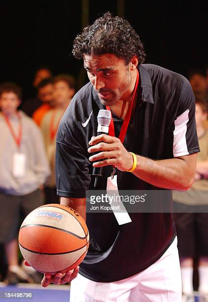 Rick Fox during HBO Presents the 1st All Star Family Sports Jam to Benefit Children's Hospital of Los Angeles in Santa Monica California United States