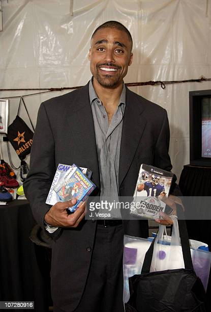 Rick Fox with Electronic Arts Nintendo Games during Nickelodeon's 15th Annual Kids Choice Awards Backstage Creations Talent Retreat Day 2 at Barker...