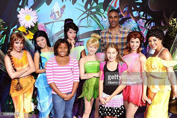 Rick Fox with guests Tinker Bell and the Fairies attend Picnic In The Park For 'Tinker Bell And The Great Fairy Rescue' at La Cienega Park on August...