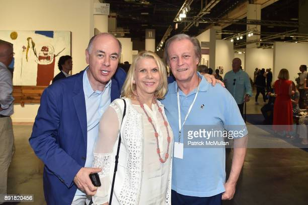Rick Frieberg Francine LeFrak and Patrick McMullan attend Art Basel Miami Beach Private Day at Miami Beach Convention Center on December 6 2017 in...