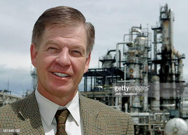 Rick George, CEO of Suncor, the Calgary-based company that purchased the ConocoPhillips refinery in Commerce City, Colo., toured the plant Tuesday...