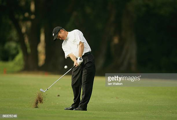 Rick Gibson of Canada in action during Day Three of the UBS Hong Kong Open at the Hong Kong Golf Club on December 3, 2005 in Fanling, Hong Kong.