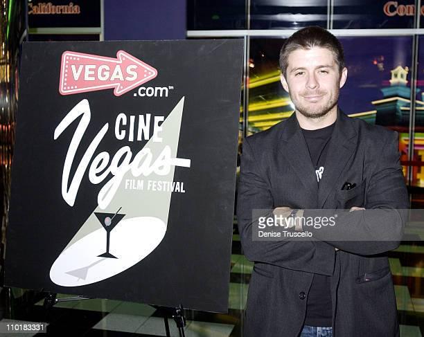 Rick Gomez during CineVegas Film Festival 2003 Screening of Last Man Running at The Palms Casino Resort in Las Vegas Nevada United States