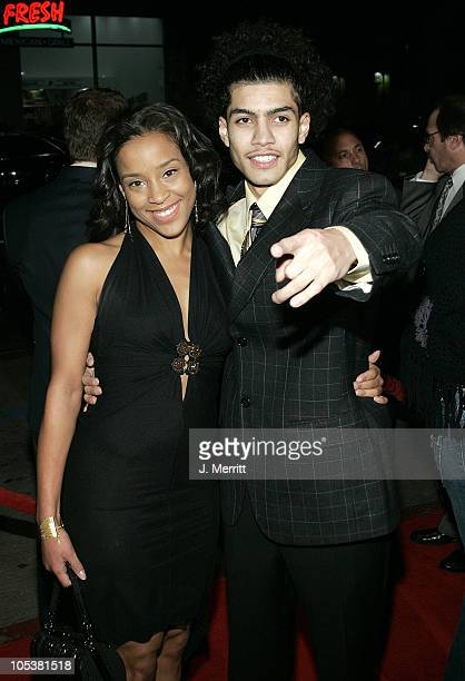 Rick Gonzalez and guest during 'Coach Carter' Los Angeles Premiere Arrivals at Grauman's Chinese Theater in Hollywood California United States