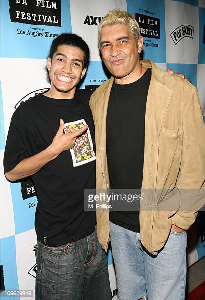 Rick Gonzalez and Pat Smear of The Germs during 2007 Los Angeles Film Festival 'What We Do is Secret' Screening at Mann Festival in Los Angeles...
