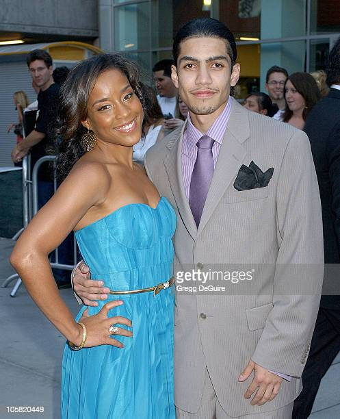 Rick Gonzalez and Sherionne during 'Pulse' Los Angeles Premiere Arrivals at ArcLight Cinemas in Hollywood California United States