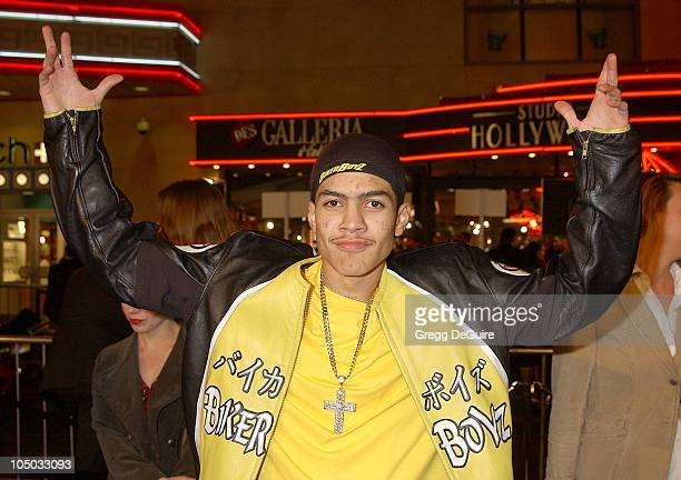 Rick Gonzalez during 'Biker Boyz' Premiere at Mann's Chinese Theatre in Hollywood California United States