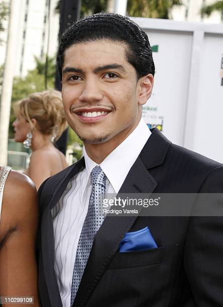 Rick Gonzalez during Billboard Latin Music Conference and Awards 2007 Arrivals at Bank United Center in Coral Gables Florida United States