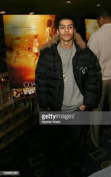 Rick Gonzalez during Coach Carter Special Screening Hosted by Paramount Pictures and New York Knicks at Clearview's Chelsea West Theater in New York...