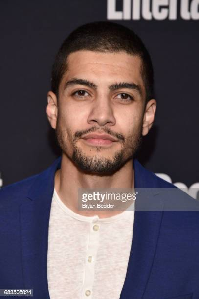 Rick Gonzalez of Arrow attends the Entertainment Weekly and PEOPLE Upfronts party presented by Netflix and Terra Chips at Second Floor on May 15 2017...