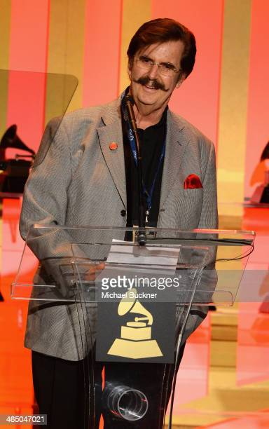 Rick Hall accepts the Lifetime Achievement Award at the Special Merit Awards Ceremony as part of the 56th GRAMMY Awards on January 25 2014 in Los...