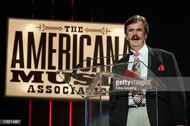 Rick Hall receives the Jack Emerson Lifetime Achievement Award for Executive during the 10th Americana Music Association Honors and Awards at the...