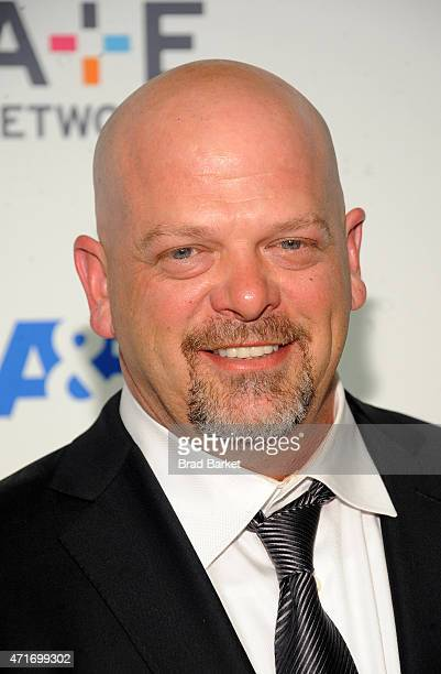 Rick Harrison attends the 2015 AE Networks Upfront on April 30 2015 in New York City