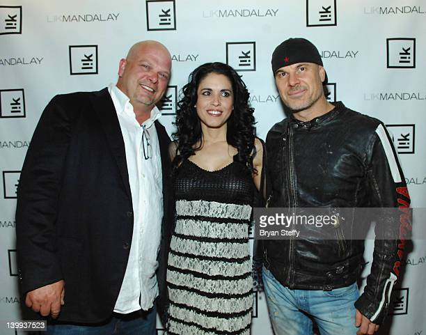 Rick Harrison DeAnna Burditt Peter Lik arrive at the opening of the new Peter Lik Gallery at the Mandalay Place inside the Mandalay Bay Resort Casino...