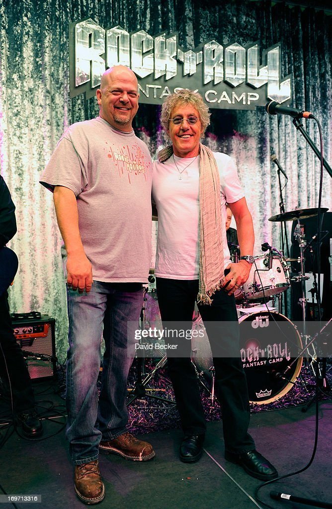 "The ""Pawn Stars"" Rick Harrison Joins Roger Daltrey At Rock 'N' Roll Fantasy Camp"
