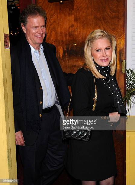 Rick Hilton and Kathy Hilton are seen on March 11 2010 in West Hollywood California