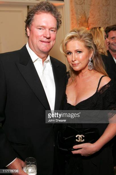 Rick Hilton and Kathy Hilton during MercedesBenz 2006 Oscar Viewing Party at Four Seasons Hotel in Beverly Hills California United States