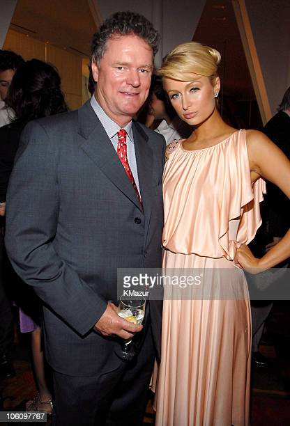 Rick Hilton and Paris Hilton during Paris Hilton's New Fragrance Launch Party at Le Cirque in New York City New York United States