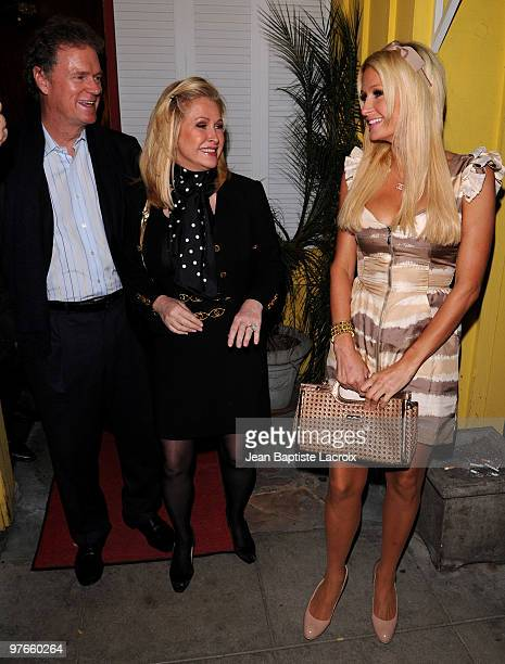 Rick Hilton Kathy Hilton and Paris Hilton are seen on March 11 2010 in West Hollywood California