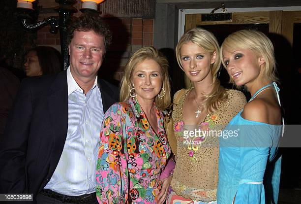 Rick Hilton Kathy Hilton Nicky Hilton and Paris Hilton