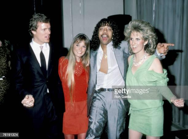 Rick Hilton Kim Richards Rick James and Kathy Hilton