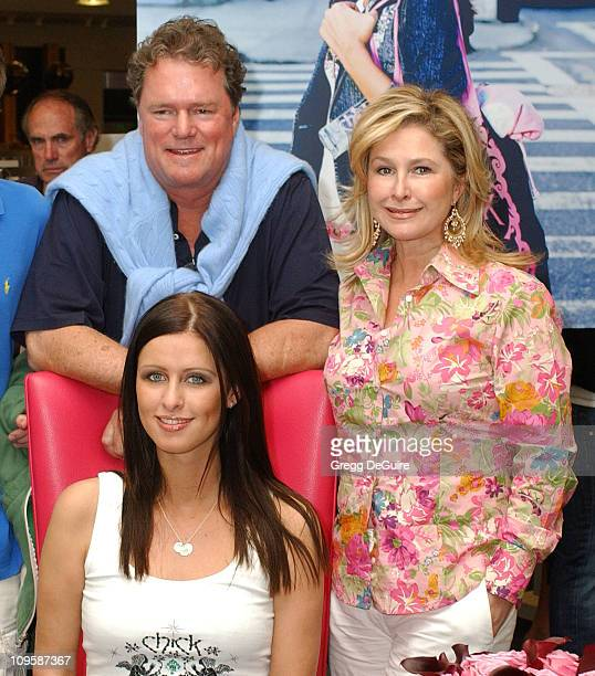 Rick Hilton Nicky Hilton and Kathy Hilton during Chick by Nicky Hilton Unveiled at Nordstrom's South Coast Plaza on the Last Stop of Her US Tour at...