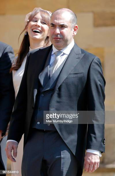 Rick Hoffman attends the wedding of Prince Harry to Ms Meghan Markle at St George's Chapel Windsor Castle on May 19 2018 in Windsor England Prince...