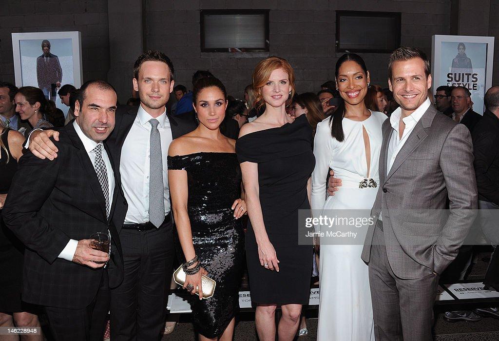 "USA Network and Mr Porter.com Present ""A Suits Story"""