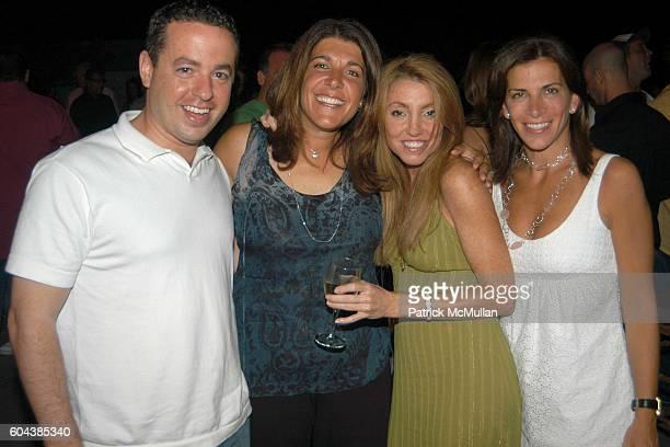 Rick Kahaner Stephanie Johnson and Mindy Greenblatt attend Cocktail Party With Steven Schonfeld Celebrating Mindy Greenblatt's Birthday at Watermill...