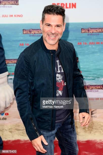 Rick Kavanian attends the 'Hotel Transsilvanien 3' premiere at CineStar on July 8 2018 in Berlin Germany
