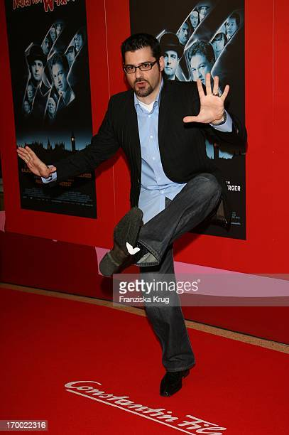 Rick Kavanian With The Arrival to New From Wixxer Premiere In Mathäser Filmpalast In Munich