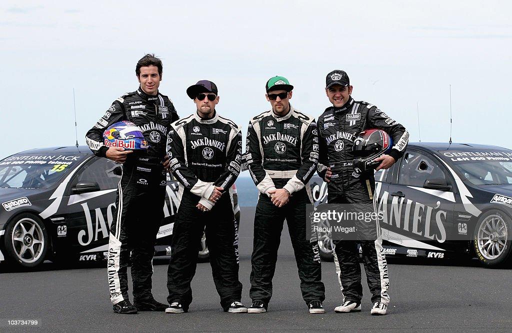 Good Charlotte Visits Phillip Island Grand Prix Circuit