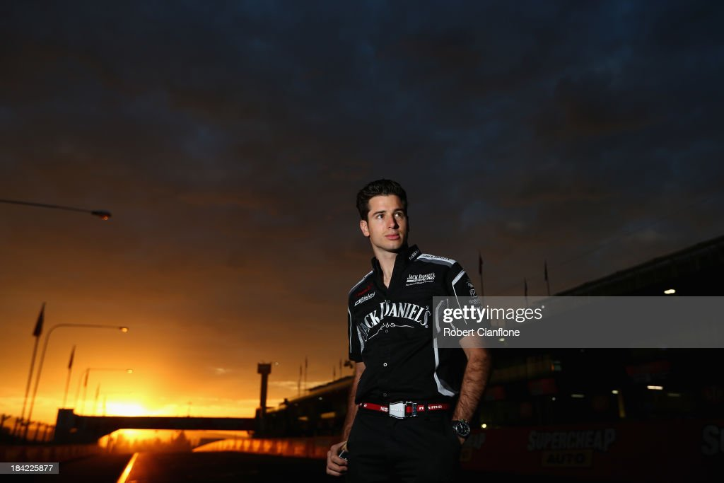 Rick Kelly driver of the #15 Jack Daniel's Racing Nissan poses on pit straight prior to the Bathurst 1000, which is round 11 of the V8 Supercars Championship Series at Mount Panorama on October 13, 2013 in Bathurst, Australia.