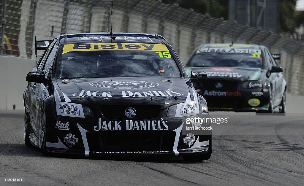 Rick Kelly drives the Jack Daniels Racing during qualifying for race
