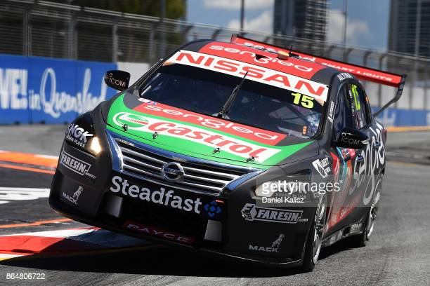 Rick Kelly drives the Sengled Racing Nissan Altima during qualifying for race 22 for the Gold Coast 600 which is part of the Supercars Championship...