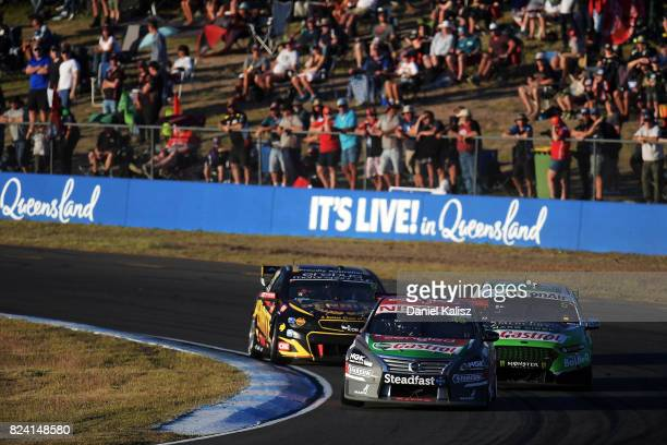 Rick Kelly drives the Sengled Racing Nissan Altima during race 15 for the Ipswich SuperSprint which is part of the Supercars Championship at...