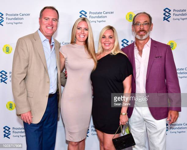 Rick Leach Alyssa Leach Hillary Simon and Scott Simon attend the 14th Annual Prostate Cancer Foundation's Gala In The Hamptons With A Special...