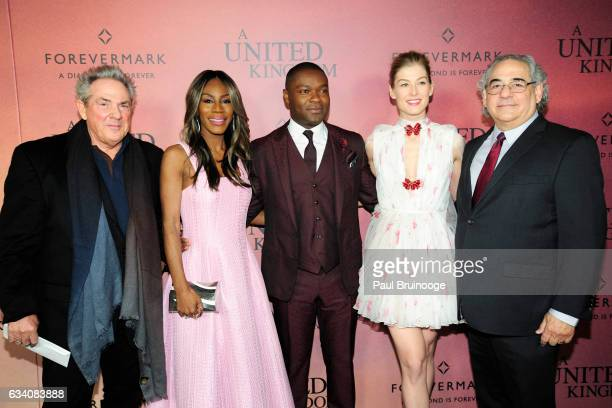 Rick McCallum Amma Asante David Oyelowo Rosamund Pike and Stephen Gilula attend Forevermark Presents the World Premiere of Fox Searchlight's 'A...