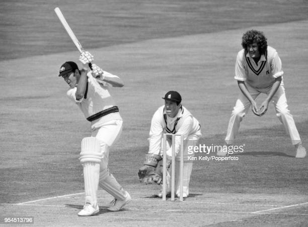 Rick McCosker batting for Australia during his innings of 77 runs in the tour match between Warwickshire and the Australians at Edgbaston Birmingham...