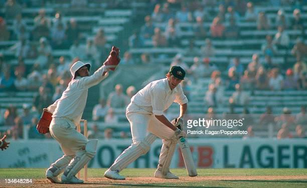 Rick McCosker edges past Knott England v Australia 4th Test The Oval Aug 1975