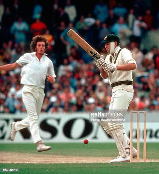 Rick McCosker faces Willis Australia v England Centenary Test Melbourne Mar 197677