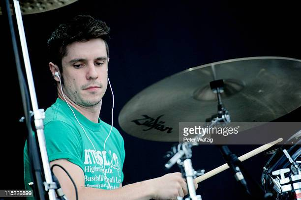 Rick McMurray of Ash performs on stage during the second day of Rock Am Ring on June 04 2011 in Nuerburg Germany