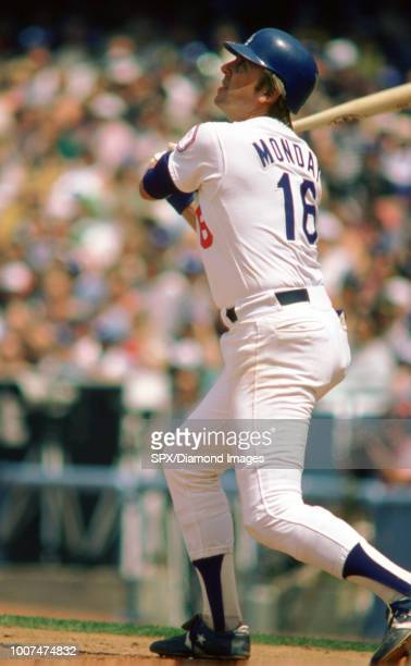 Rick Monday of the Los Angeles Dodgers at bat during a game from his 1984 season with the Los Angeles Dodgers Rick Monday played for 19 years with 3...
